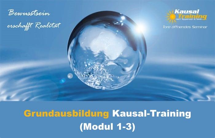 Grundausbildung Kausal-Training (Modul 1-3)