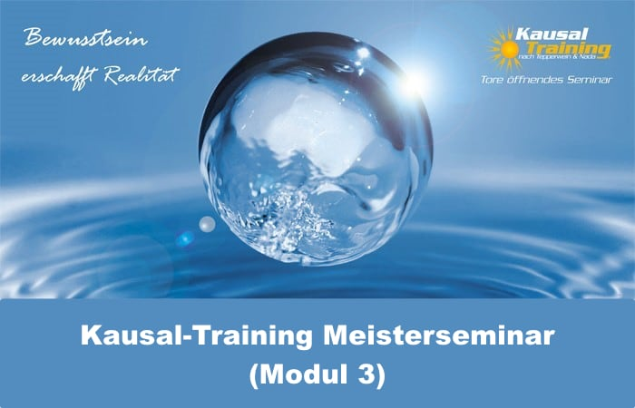 Kausal-Training Meisterseminar (Kausal-Training Grundausbildung Modul 3)